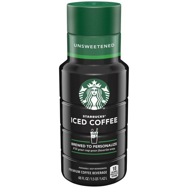 Starbucks Iced Coffee Unsweetened Iced Coffee