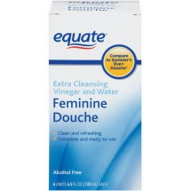 Equate Extra Cleansing Vinegar and Water Feminine Douche, 4.5 Oz