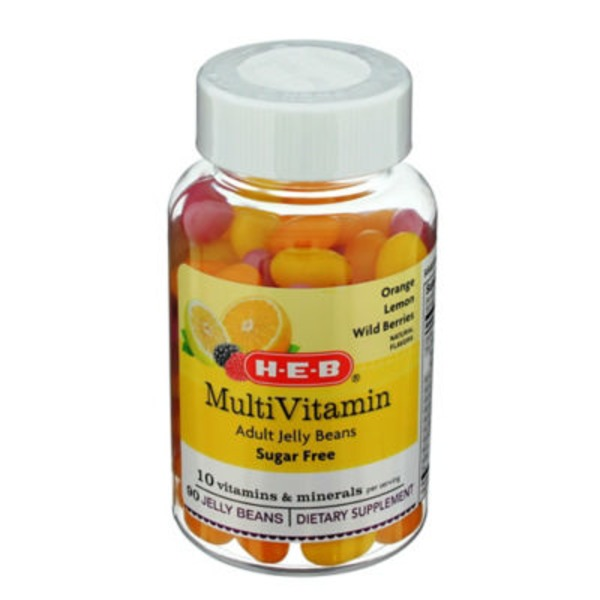 H-E-B Sugar Free Multi Vitamin Adult Jelly Beans