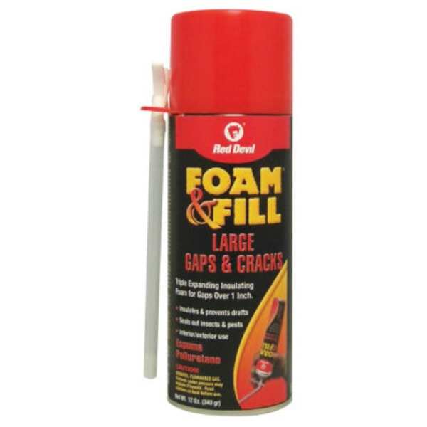 Red Devil Triple Expanding Polyurethane Sealant