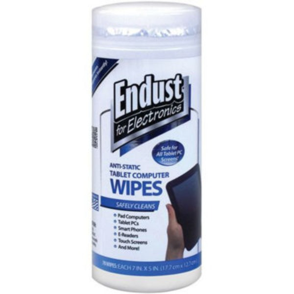 Endust For Electronics Anti Static Tablet Computer Wipes