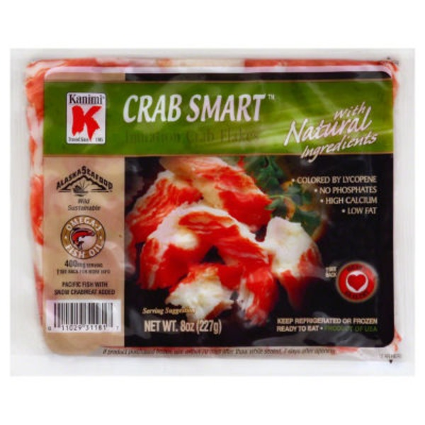 Kanimi Imitation Crab Flakes