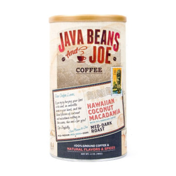 Java Beans And Joe Coffee Hawaii Coconut Macadamia