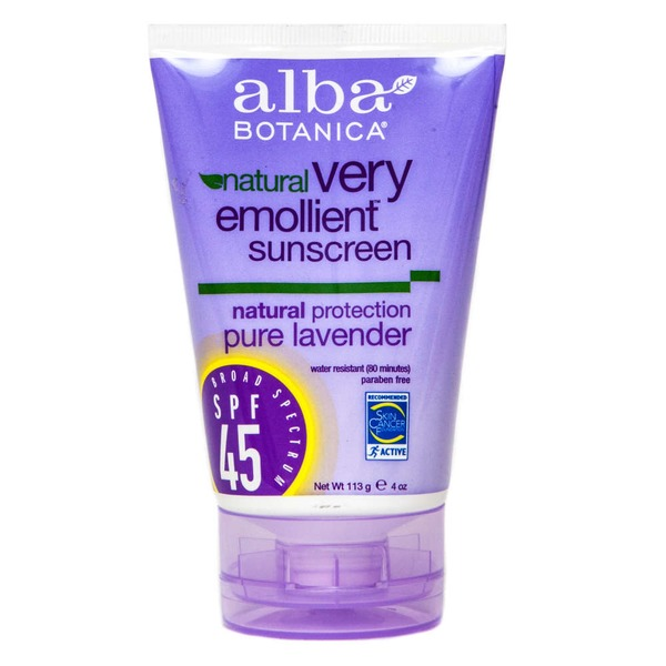 Alba Botanica Soothing Sunscreen Pure Lavender