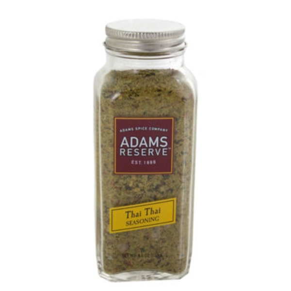 Adams Reserve Seasoning, Thai Thai, Bottle