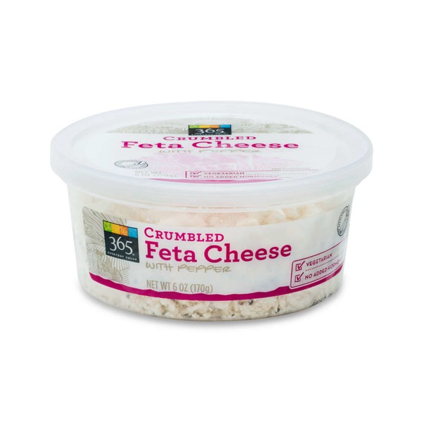 365 Feta Cheese Crumbles With Pepper