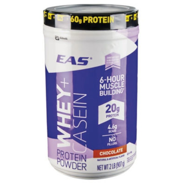Eas 100% Whey Whey + Casein Chocolate Protein Powder