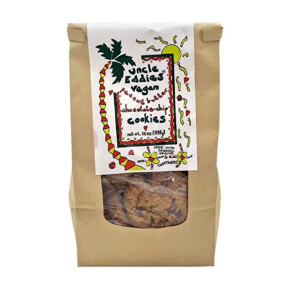 Uncle Eddies Vegan Peanut Butter Chocolate Chip Cookies