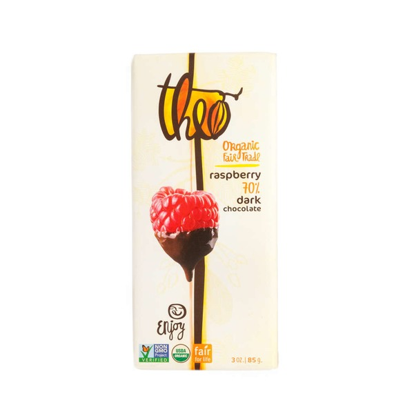 Theo Raspberry 70% Dark Chocolate