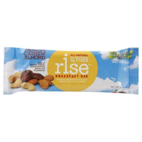 Rise Bar Cashew Almond Breakfast Bar