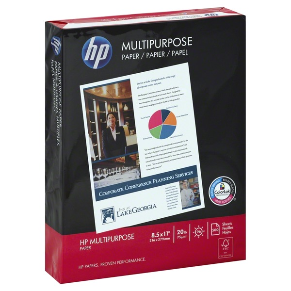 HP Multipurpose Ultra White Paper - 500 CT