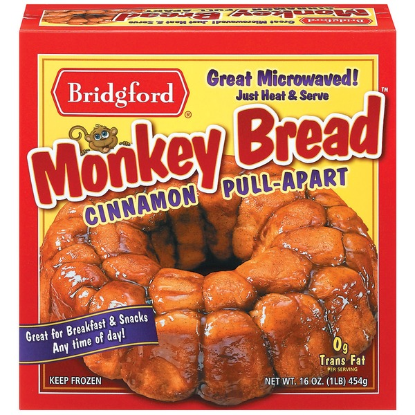 Bridgford Cinnamon Pull-Apart Monkey Bread