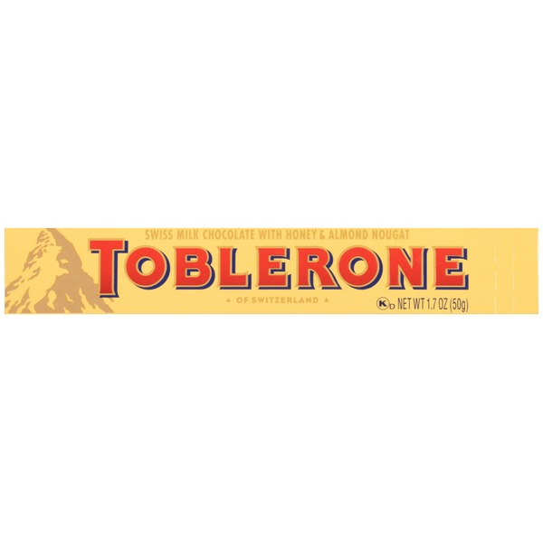Toblerone Swiss Milk Chocolate with Honey & Almond Nougat Candy