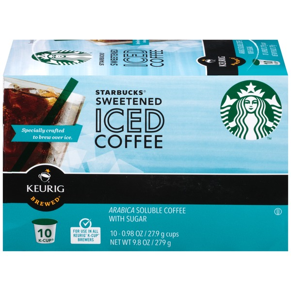 Starbucks Sweetened Iced Coffee K-Cup