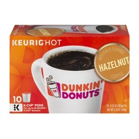 Dunkin' Donuts Keurig Hot Dunkin' Donuts Hazelnut Coffee K-Cup Pods - 10 CT