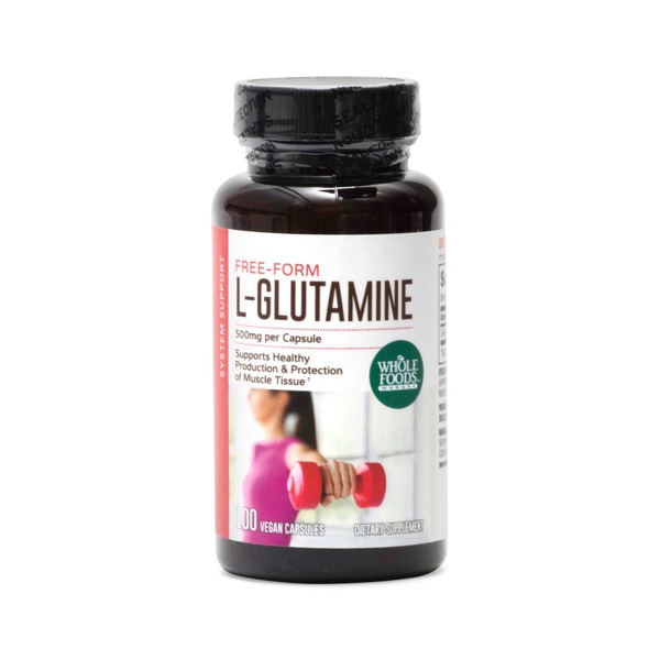 Whole Foods Market L-Glutamine 500mg