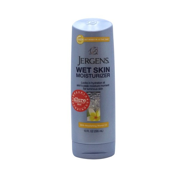 Jergens Wet Skin Moisturizer With Nourishing Monoi Oil