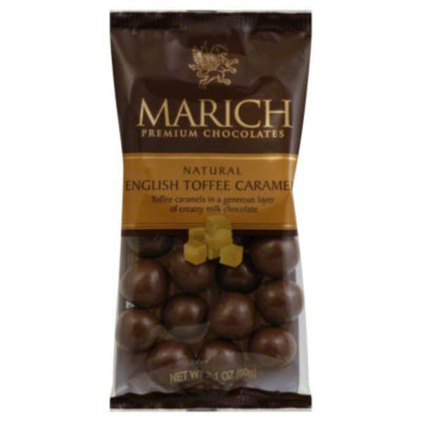 Marich Chocolates, Premium, Natural English Toffee Caramel