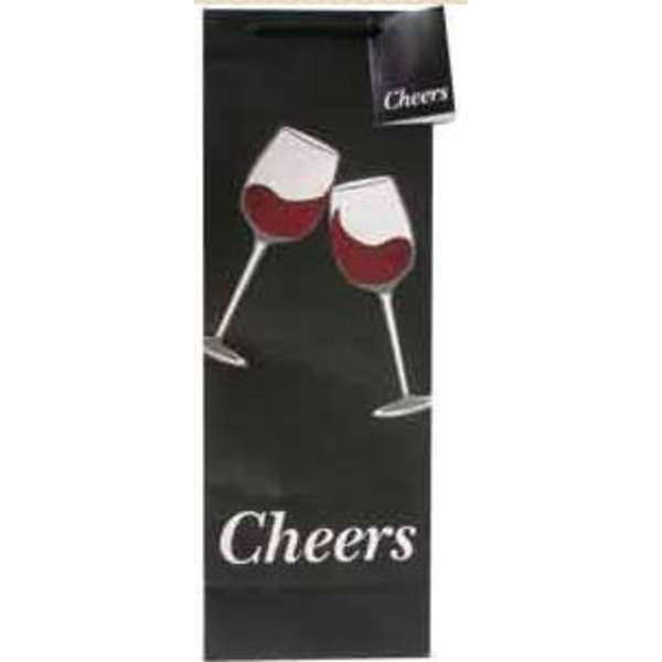 Happy Hour Cheers Paper Gift Bag