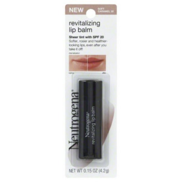 Neutrogena® Soft Caramel 50 Revitalizing Lip Balm