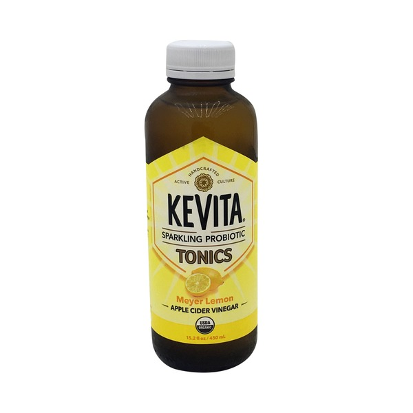 Kevita Meyer Lemon Apple Cider Vinegar Tonic Cleansing Probiotic