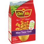 Ore-Ida Mini Tater Tots Seasoned Shredded Potatoes