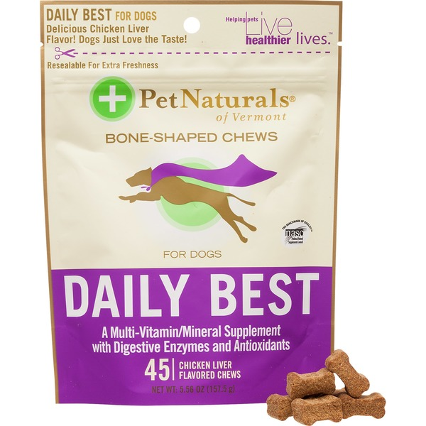 Pet Naturals Daily Best Soft Chews Dog Vitamins