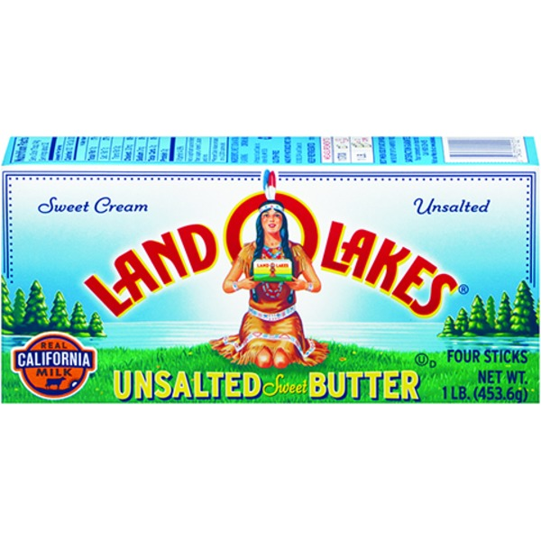 Land O Lakes® Unsalted Sweet Butter, Quarters