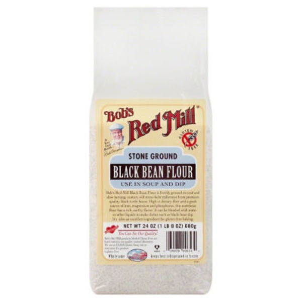 Bob's Red Mill Stone Ground Black Bean Flour