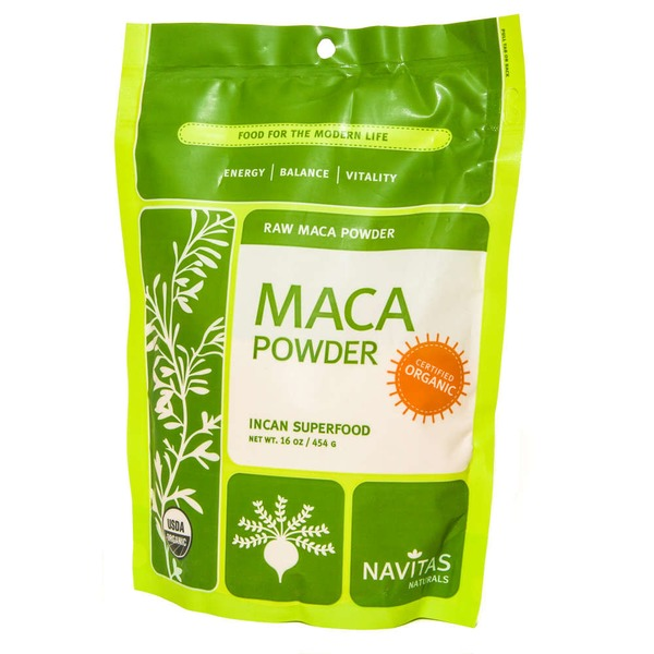 Navitas Naturals Raw Maca Powder Incan Superfood