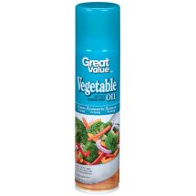 Great Value Vegetable Oil Cooking Spray, 8 oz