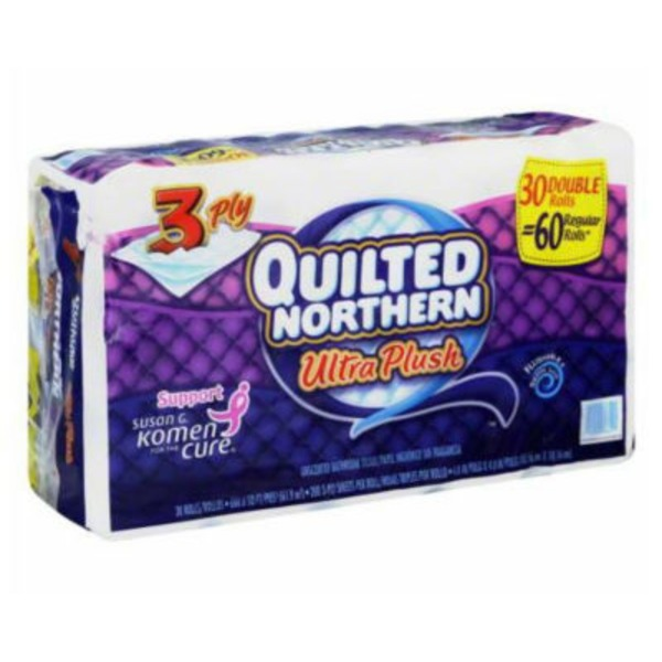 Quilted Northern Ultra Plush® 3 Ply Double Toilet Paper Rolls