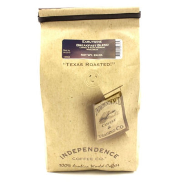 Independence Coffee Co Earlywine Breakfast Blend Whole Bean Coffee