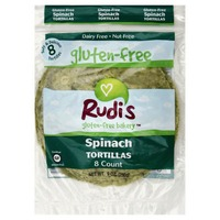 Rudis Spinach Tortillas 8 Count