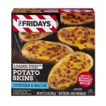 TGI Fridays Loaded Potato Skins Cheddar & Bacon, 13.5 OZ