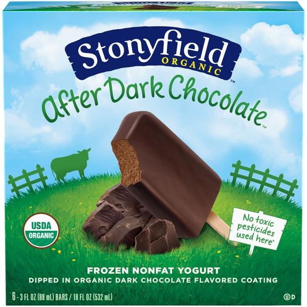 Stonyfield Organic After Dark Chocolate Frozen Nonfat Yogurt