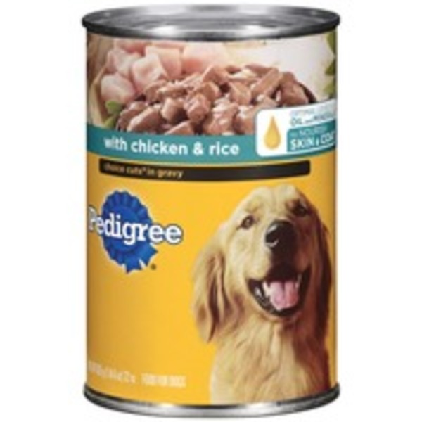 Pedigree Choice Cuts In Gravy with Chicken & Rice Wet Dog Food