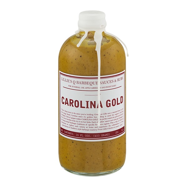 Lillie's Q Barbeque Sauces & Rubs Carolina Gold