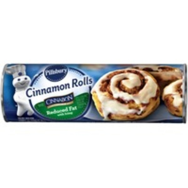 Pillsbury with Icing Reduced Fat Cinnamon Rolls