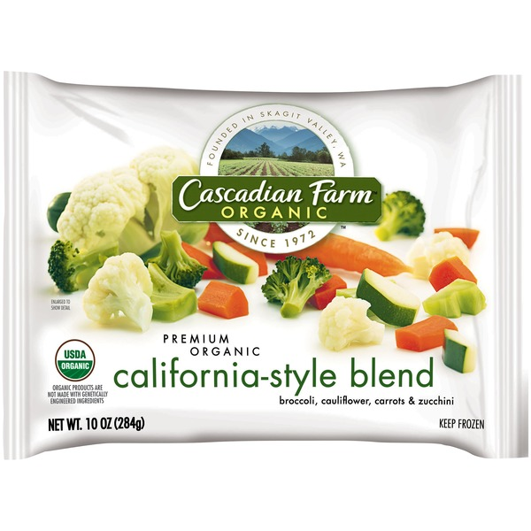 Cascadian Farm Organic California-Style Blend