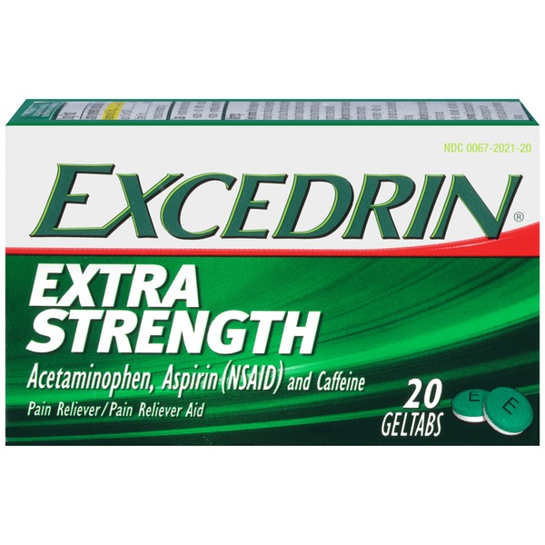 Excedrin Extra Strength Pain Relief Geltabs