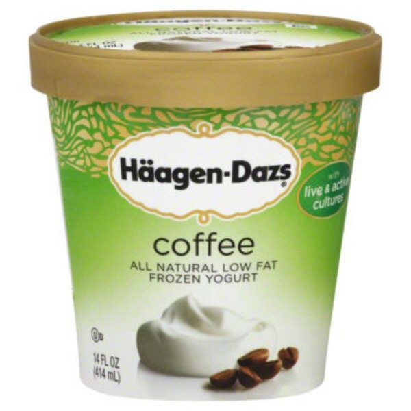 Haagen-Dazs Coffee Low Fat Frozen Yogurt