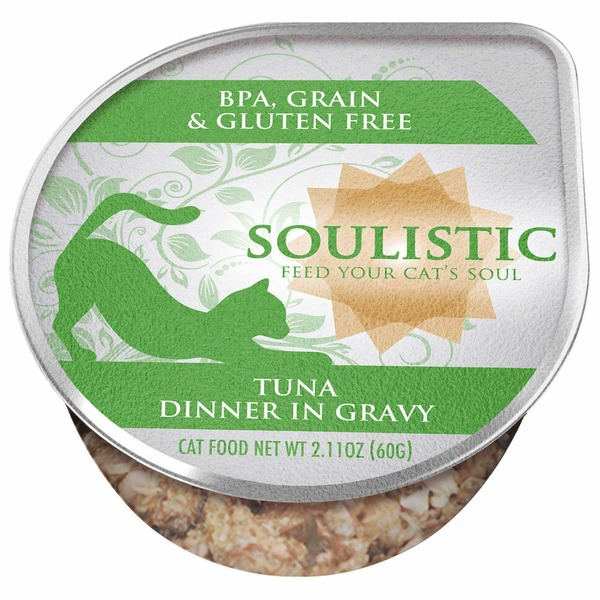 Soulistic Tuna Dinner Adult Canned Cat Food In Gravy