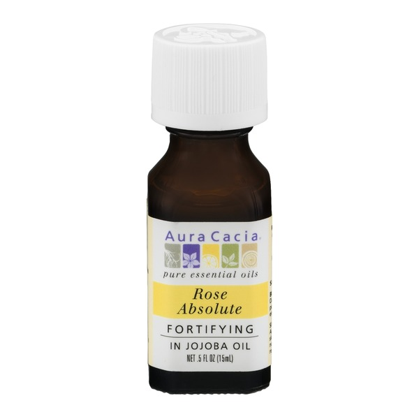 Aura Cacia Pure Aromatherapy 100% Pure Essential Oil Rose Absolute