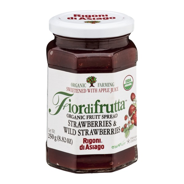 Fiordifrutta Organic Fruit Spread Strawberries & Wild Strawberries