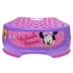 Disney Minnie Mouse Step and Glow Step Stool, Purple