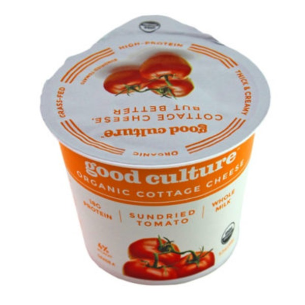 Good Culture Organic Cottage Cheese Sun Dried Tomato