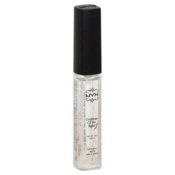 NYX Goddess Of the Night Lip Gloss with Mega Shine, Clear 103