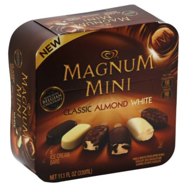 Magnum Classic/Almond/White Ice Cream Bars