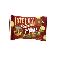 Late July Organic Mini Peanut Butter Crackers